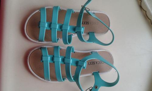 remate: sandalias para niña usados