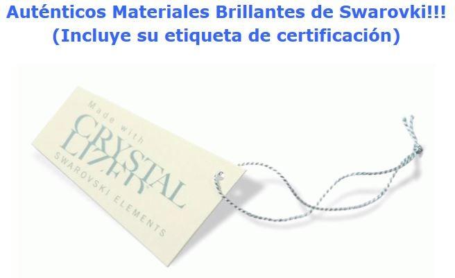 2e32987883b2 Remate Set Swarovski Collar Aretes Al Oleo Amor Novia Mama ...