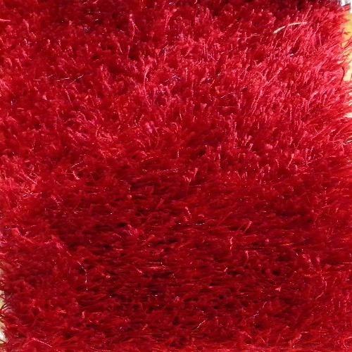 remate tapetes decorativos shag star rojo 1.60x2.30 msi