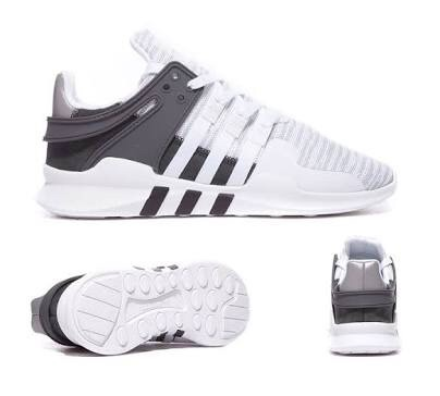 reputable site 4962c 5b11d netherlands adidas eqt support adv negro and blanco 2710e aebe7