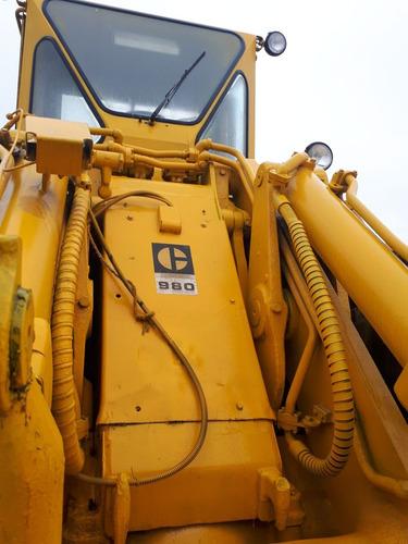 remate urge cargador caterpillar 980