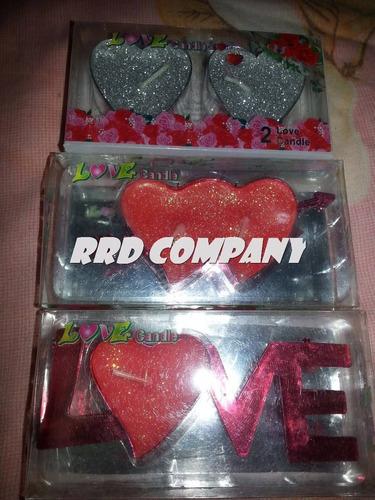 remate velas romanticas love corazones