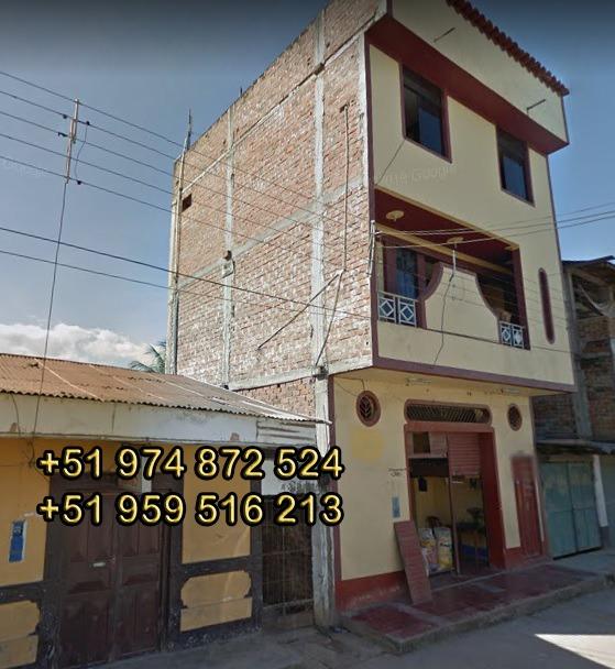 remate venta de casa terreno urbano en juanjui- san martin