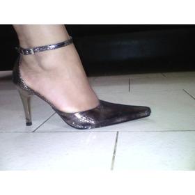 Remate Zapatos De Vestir Animal Print Tacon Aguja Puntiagudo