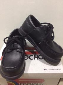 67bd008ea Remate Zapatos Pocholin Para Niños Talla 24 Escolar Colegial