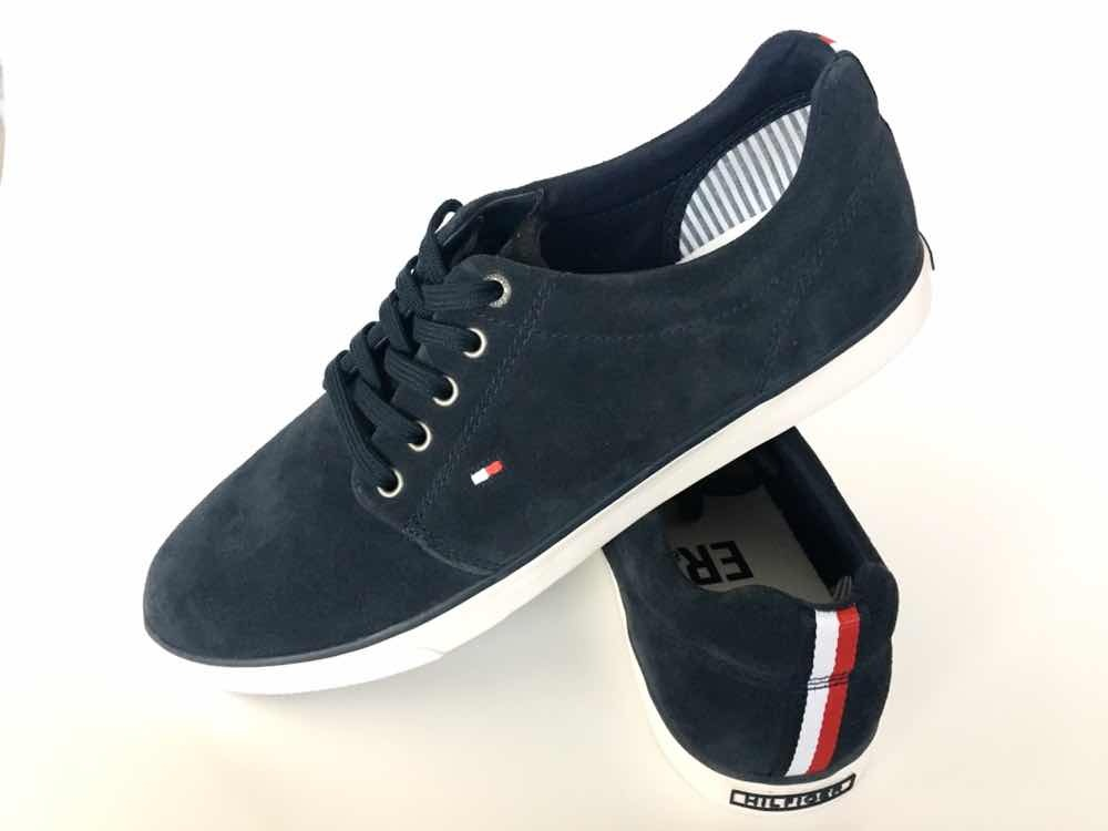 7a8902bdffd remate! zapatos tommy hilfiger gamuza talla 43 originales. Cargando zoom.