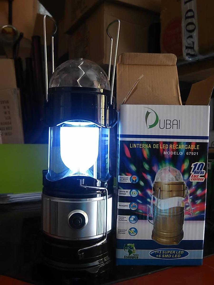 Rematelampara linterna led recargable foco colores for Foco led recargable