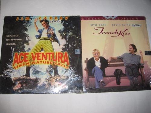 remato 2 películas laserdisc 1nueva + 1usada envío gratis