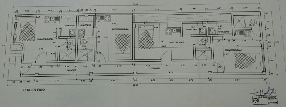 remato 3er piso + azotea en vmt