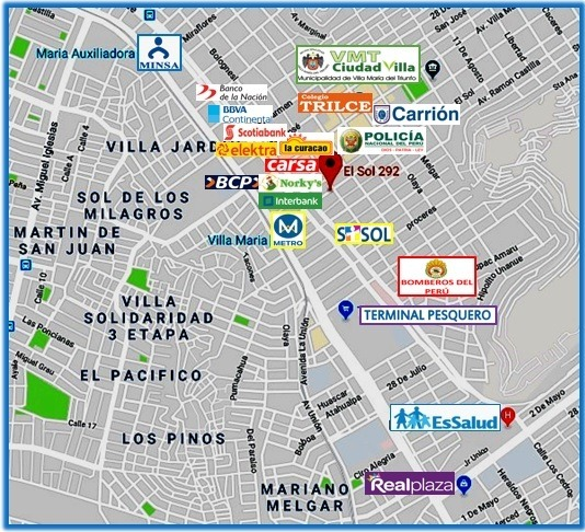 remato 3er piso y aires vmt zona comercial 100 m2