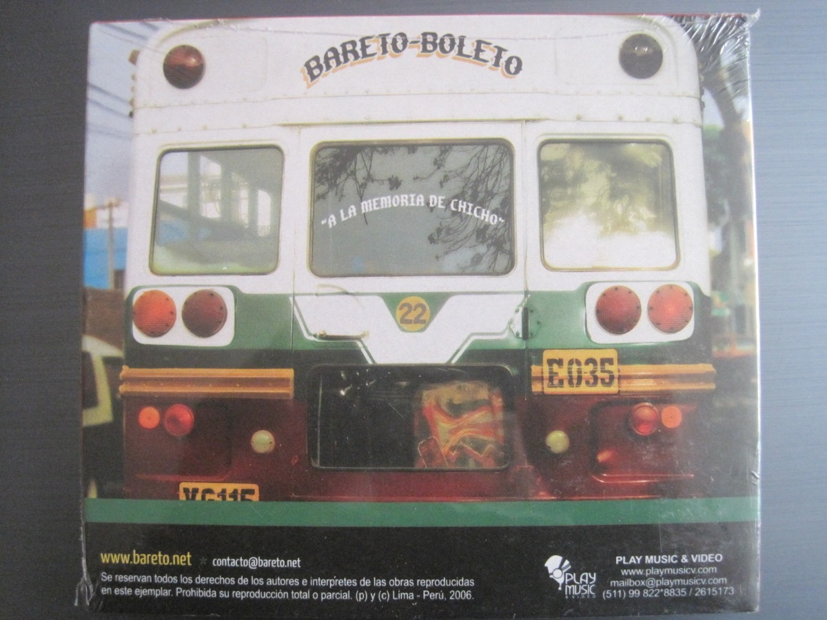 bareto boleto 2006