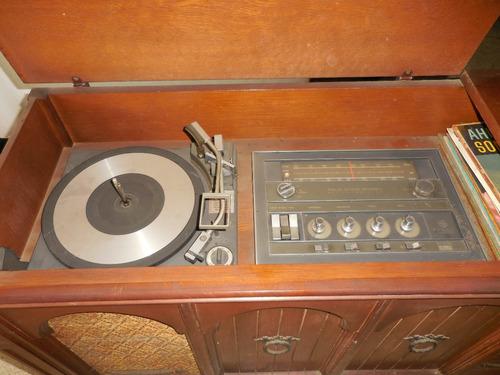 remato antiguo tocadiscos radio general electric años 60