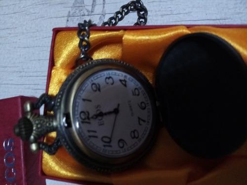 remato antiguo y hermoso reloj bolsillo ecos