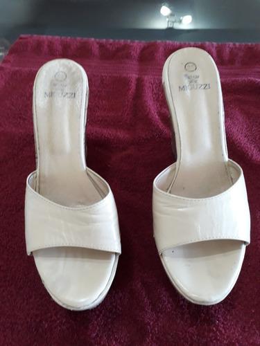 remato bellisimos zapatos dama miguzzi originales, talla 39