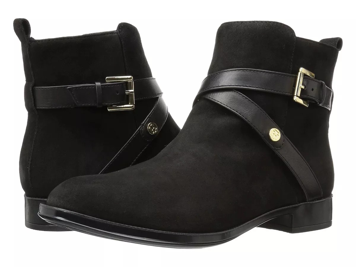 8eac13cb Remato !botines Tommy Hilfiger Mujer T-7 Y T-8