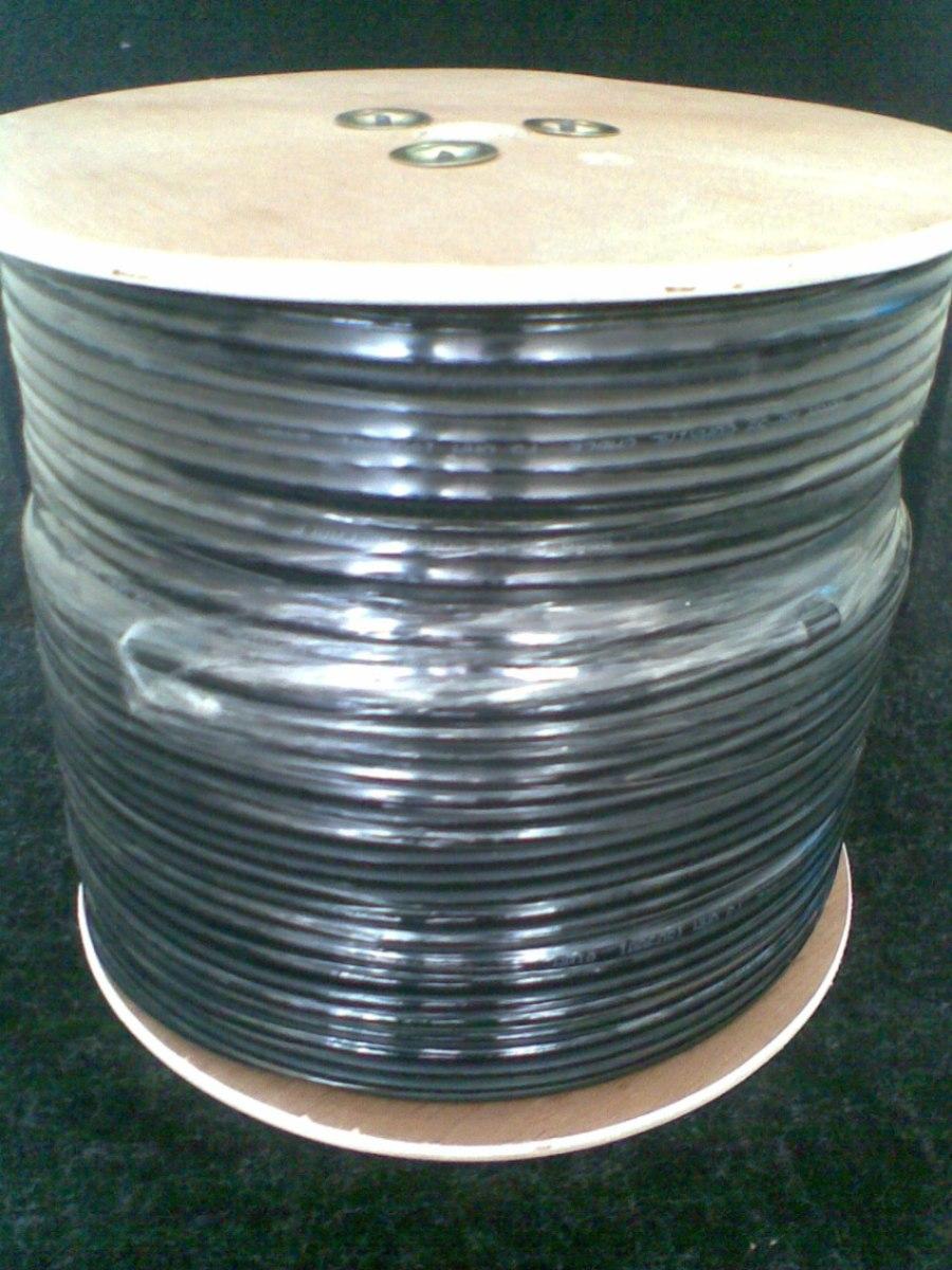 Remato cable coaxial rg 59 rollo 305 m en - Cable coaxial precio ...