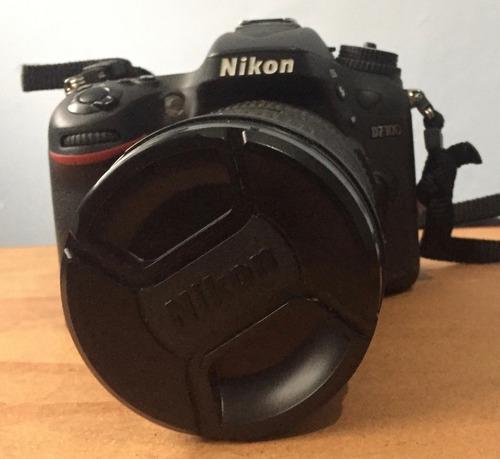 remato cámara nikon d7100  lente nikkor 18-200mm