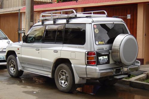 remato camioneta 4x4 mitsubishi pajero-(negociable)