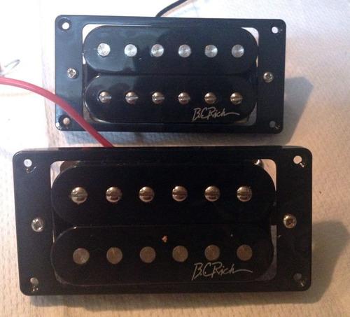 remato capsulas de guitarra bc rich (par)  nuevas