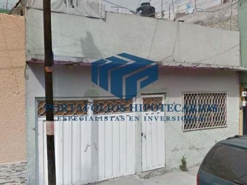 remato casa de 1 nivel ubicada en col 1 de mayo cd de mexico