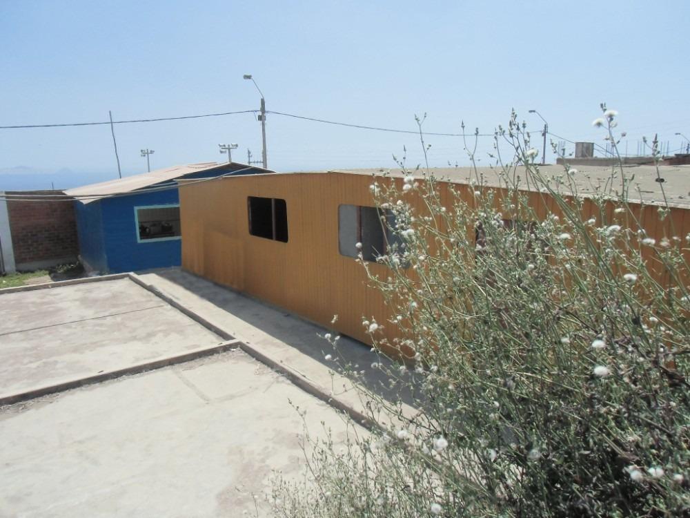 remato casa prefabricada pachacutec ventanilla 160m2