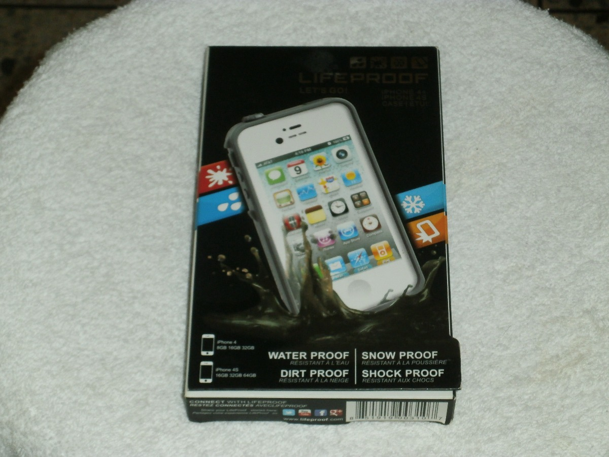 6513467b91f Remato Case iPhone 4 Lifeproof Original - Importado - Bs. 160.000,00 ...