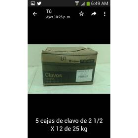 Remato Clavos 1 1/2 X 12 Y 4 X 8