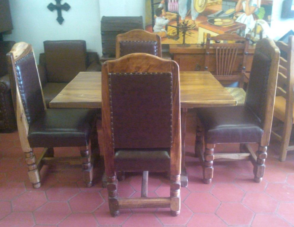 Remato comedor estilo antiguo fabricado en madera de - Comedores antiguos de madera ...