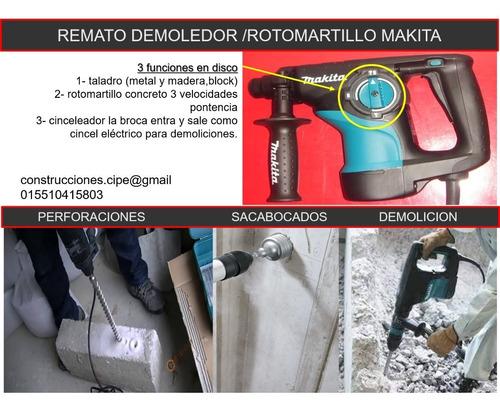 remato demoledor /rotomartillo makita