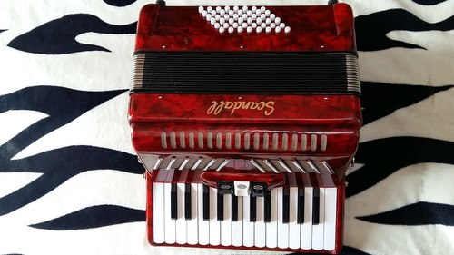 remato hermoso acordeon scandall.. nuevo.. por viaje..!!