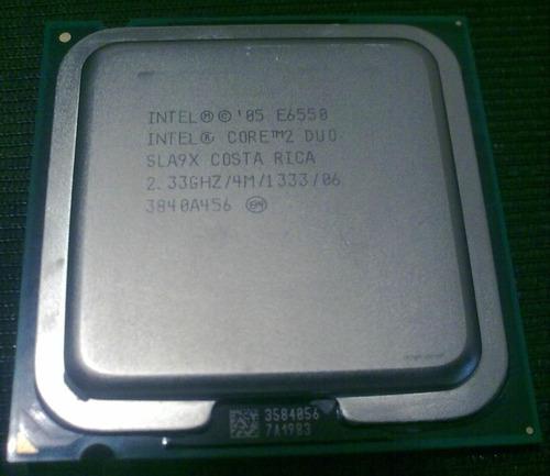 remato intel core 2 duo e6550 2.33 ghz, 4 mb caché, 1333mhz
