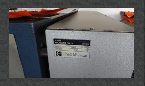 remato!! kodak procesadora láminas - maquinaria imprenta