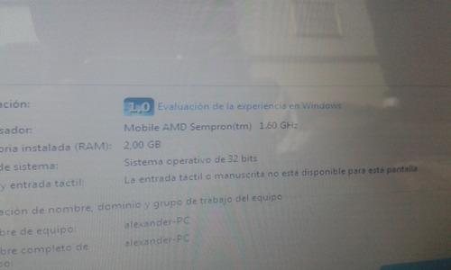 remato!!!! laptop compaq presario 3000v casi nueva!!