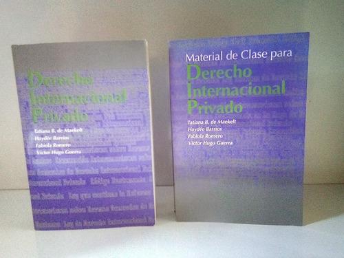 remato libros de derecho internacional privado