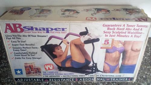 remato!!! maquina para abdominales ab shaper ref#30$