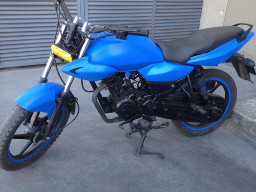 remato moto xcd 125 dts-si (azul mate)   bajaj pulsar (2008)