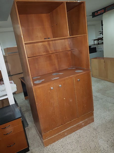 remato mueble madera tipo bar despensa ideal oficina bs