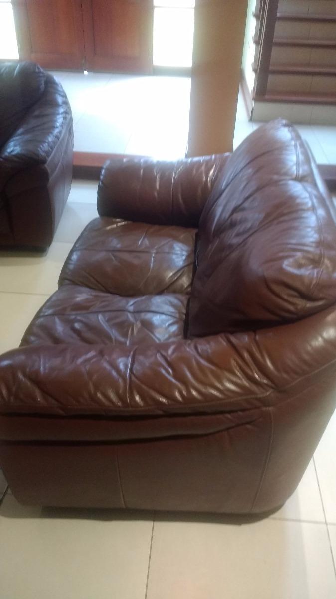 Remato Muebles De Cuero Dawson En Buen Estado - S/ 600,00 en Mercado ...