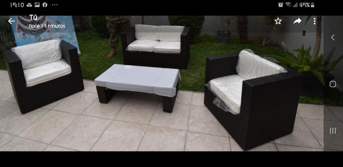 Remato Muebles De Terraza Living San Remo Nuevo En Caja