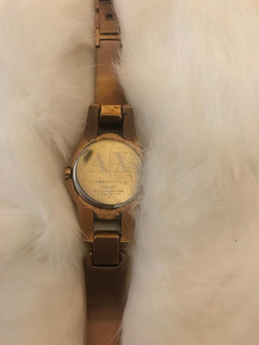 a7e7a7c2448e remato precioso reloj para dama armani exchange ax4091. Cargando zoom.