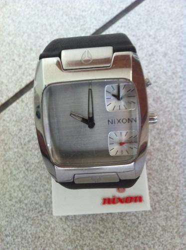 remato reloj nixon the bank 100% original