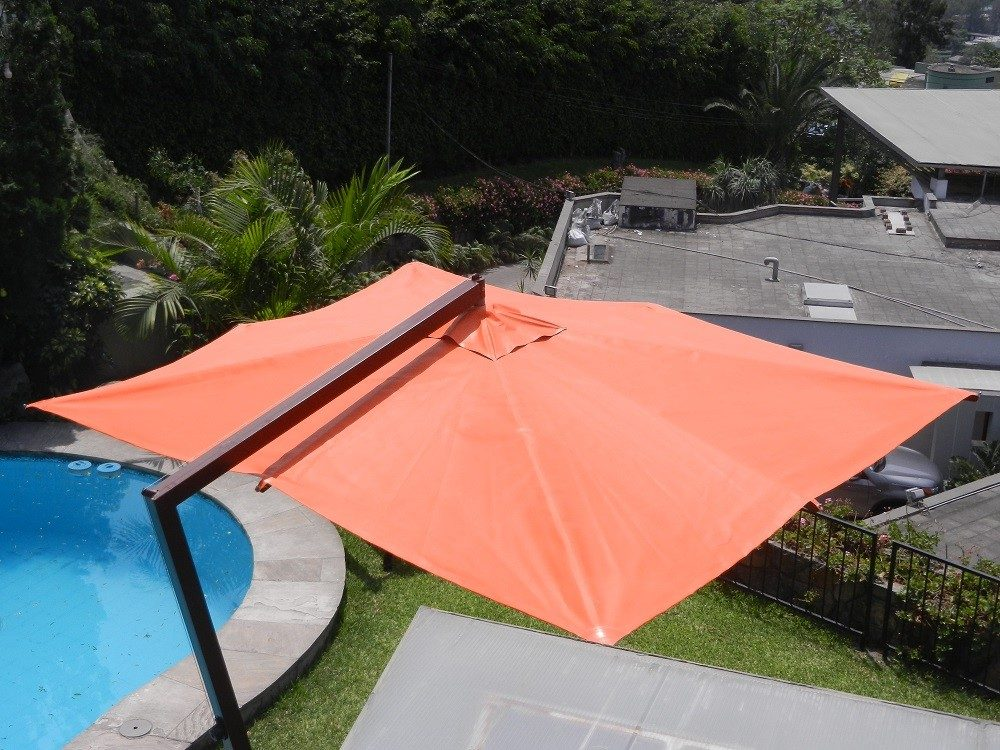 Remato sombrilla de terraza marca ambito s en - Sombrilla de terraza ...