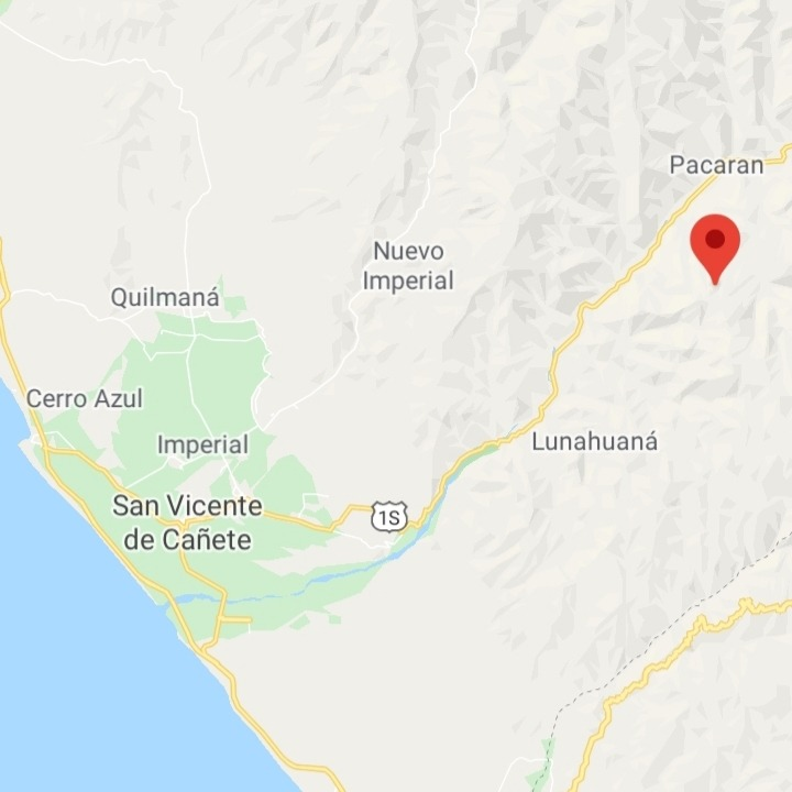 remato terreno-huerta en pacaran ( a 8km de lunahuana)
