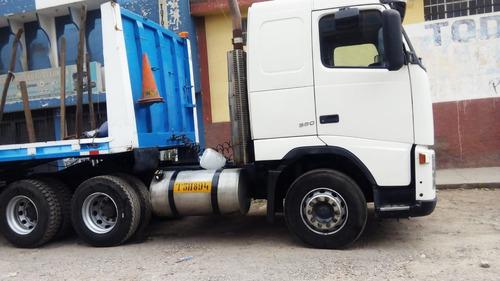 remato tracto camion volvo fh380 + plataforma-  año 2005