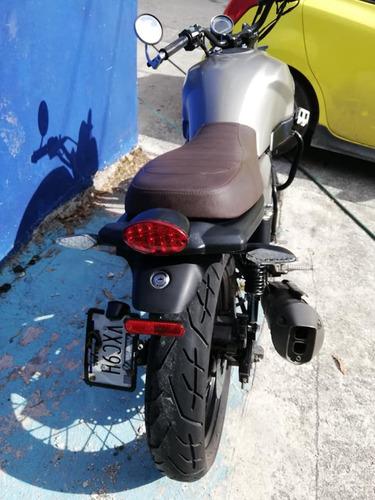 remato vento rocket man 250 cc cafe racer impecable