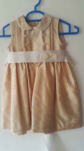 remato vestido español para bautizo cortejo fiesta niña