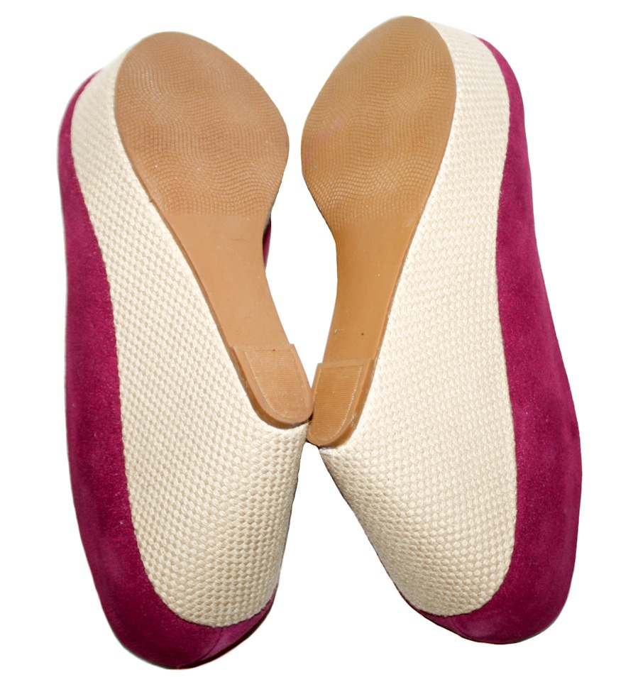 c4d9c8a128 remato zapatos tacon wedge color bugambilia rosa no. 4.5. Cargando zoom.