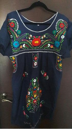 remato!blusas típicas bordadas a mano talla xl