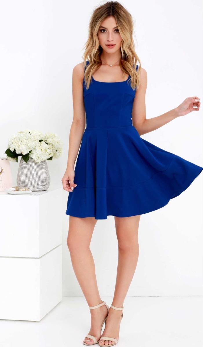 e9f8a2b572d37 rematoo!! Vestido Azul (fiesta