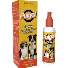 Remedio Combate Pulga/carrapato,spray Cheiroso Ação Rapida